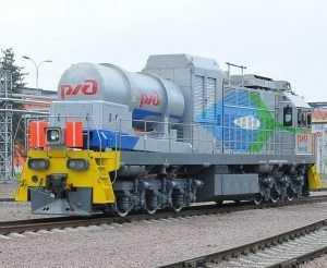Новый газопоршневой тепловоз из Брянска отправился в Егоршино