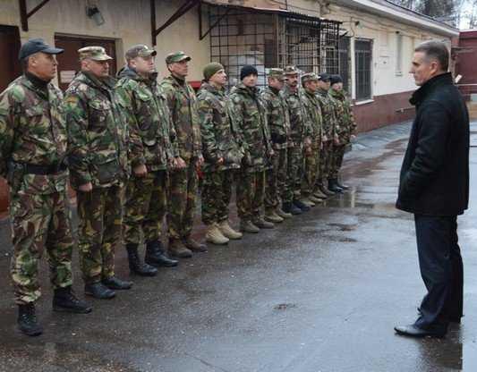 Брянские спецназовцы отправились на Кавказ