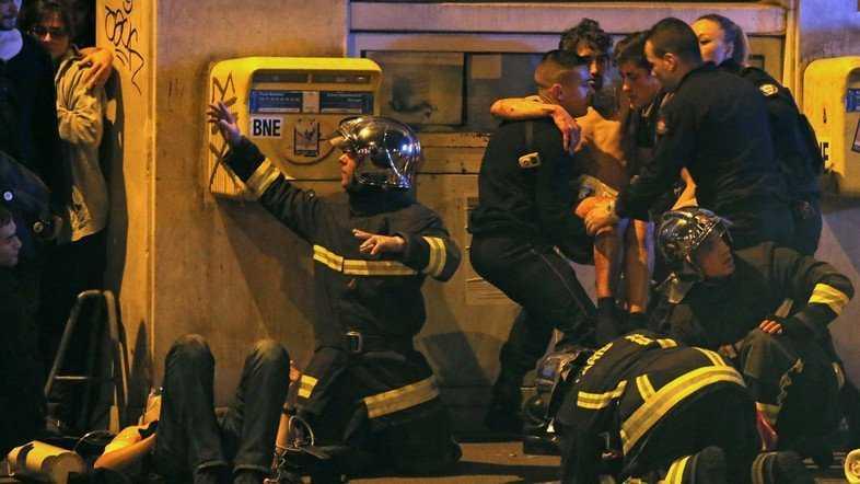 В Париже убиты более ста человек