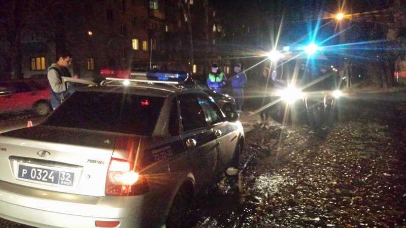 В брянском райцентре водитель покалечил пешехода