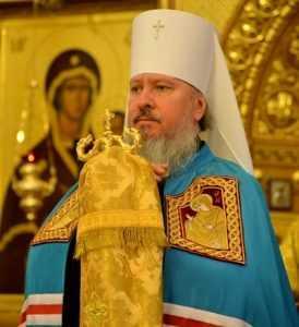 Брянский митрополит Александр помолился о жертвах парижских терактов