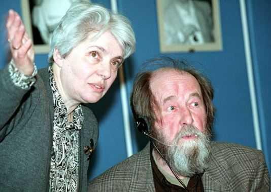 В Брянск приедет вдова писателя Александра Солженицына