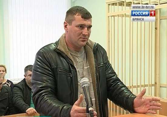 Бывшему полицейскому дали 6 лет строгого режима за гибель брянца
