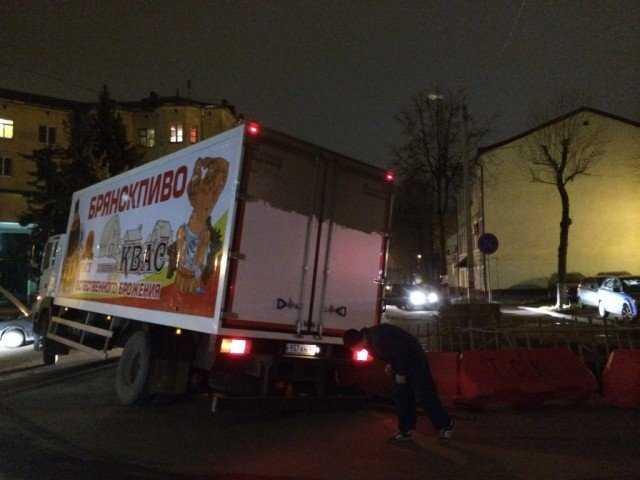 Брянское пиво провалилось в центре Смоленска