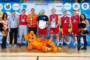 Сборная «МРСК Центра» победила в волейбольном турнире