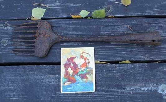 В заповеднике «Брянский лес» нашли древнюю монашескую острогу