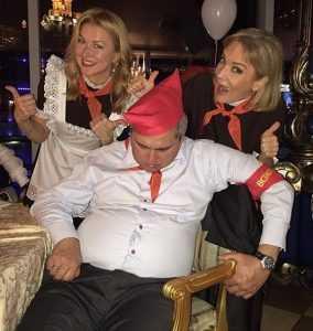 Брянские недоросли и Татьяна Буланова вовсю повеселились в день траура