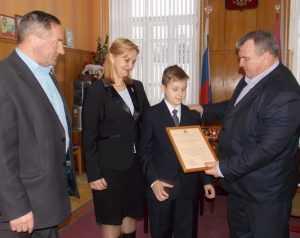 В брянском райцентре льготникам вручили жилищные сертификаты