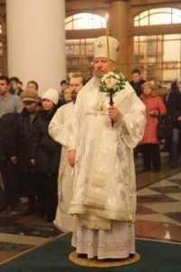 В брянском Кафедральном соборе митрополит совершил Всенощное бдение