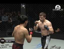 Брянский боец одержал победу в Китае (видео)