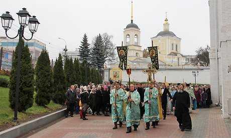 В Кафедральном соборе Брянска прошло праздничное Богослужение