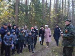 Брянским туристам показали «Бой у деревни Зайцев двор»
