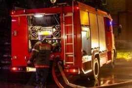 При пожаре в Брянской области пострадал один человек