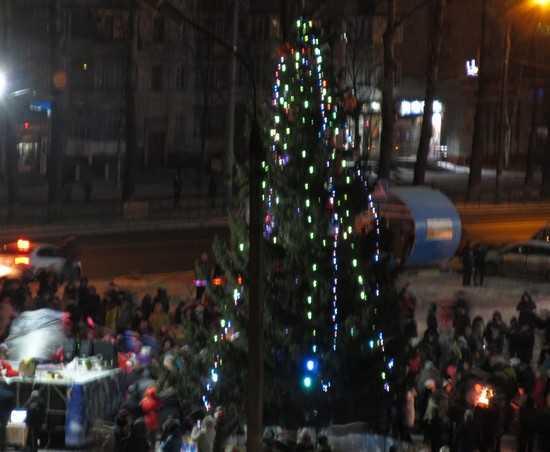 Брянск празднует Новый год до изнеможения