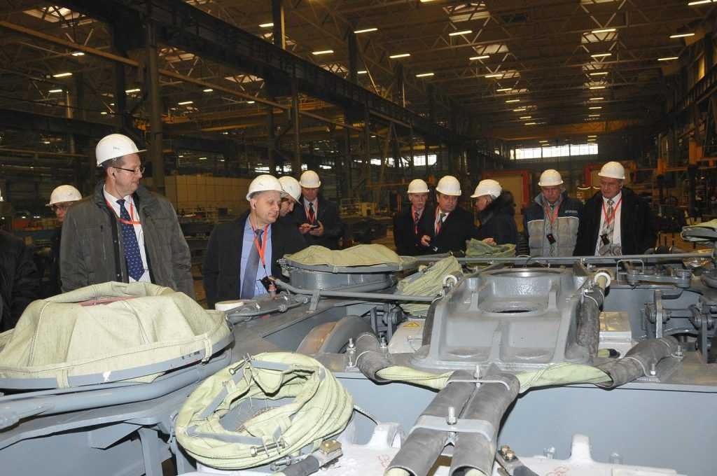 На Брянском машиностроительном заводе обсудили развитие локомотивной тяги