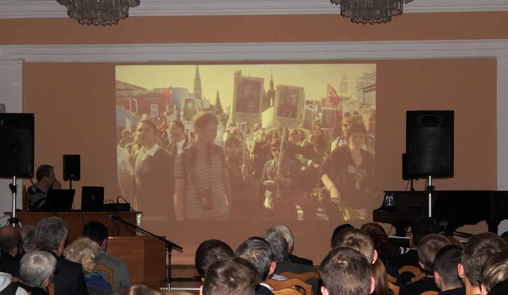 Изборский клуб подарил Брянску концерт «Бессмертный полк»