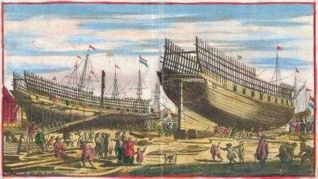 Брянский дуб стал основой реконструкции петровской «Полтавы»