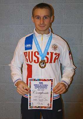 Брянский гиревик стал чемпионом мира
