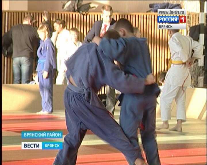 В Брянском районе прошёл детский турнир по дзюдо