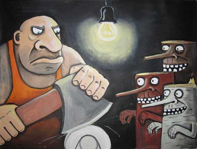 Брянский разбойник с топором ограбил деревенский магазин