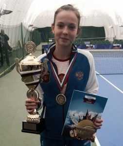 Брянские власти помогут деньгами теннисистке Владе Коваль
