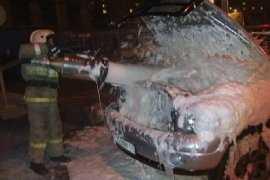 Минувшей ночью в Брянской области сгорели машина и автомойка