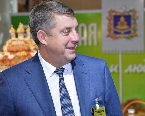 Брянский губернатор Александр Богомаз поднялся на две ступени