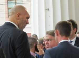 Николай Валуев пожелал брянцу Минакову победы над американцем