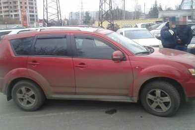 В Твери отыскался автомобиль, угнанный в Брянске