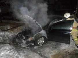 В Брянской области за ночь сгорели два автомобиля