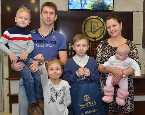 Многодетная брянская семья Беляковых: в Новый год – с новой квартирой!
