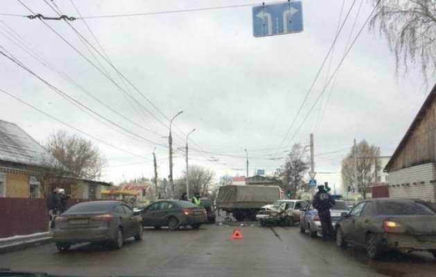 Крупное ДТП в Брянске устроил пьяный водитель
