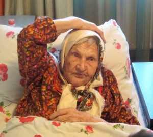 Жительницу Брянска Анастасию Сергееву поздравили со столетием