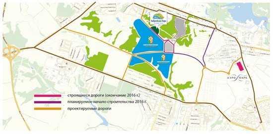 В «Мичуринский» микрорайон Брянска придут новые дороги