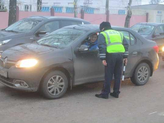 Брянские гаишники устроят засаду на пьяных водителей в Бежице