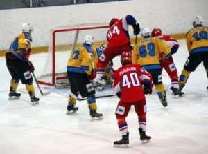 Хоккейный «Брянск» завершил первый круг чемпионата поражением