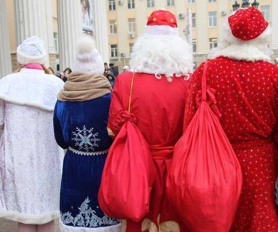 Дед Мороз из Великого Устюга отчитался о поездке в Брянск