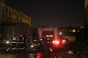 В городском комитете по ЖКХ Брянска произошел пожар