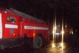 В Брянской области сгорел жилой дом