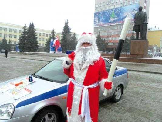 Новогодней ночью в Брянске  ограничат движение транспорта