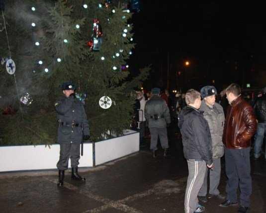 Новогодний Брянск полиция возьмёт под усиленную охрану