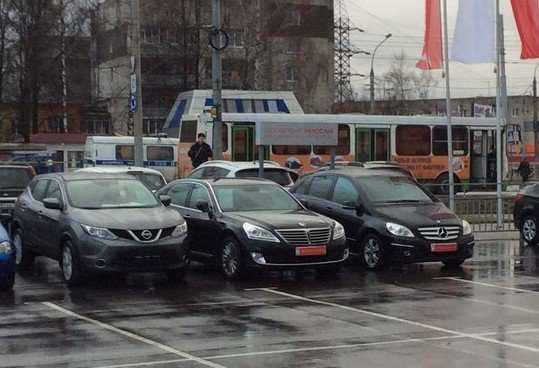 В Брянске около телецентра случился переполох из-за мнимой бомбы