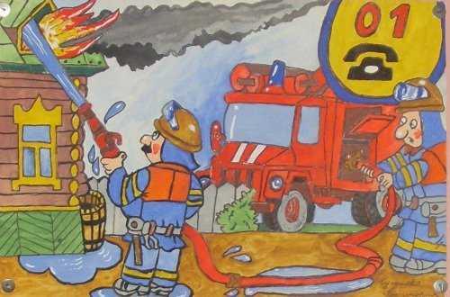 В брянском поселке сгорела мансарда жилого дома