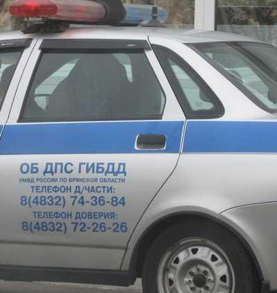В Брянске некий водитель наехал на мужчину и скрылся