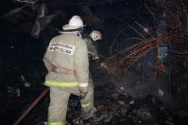 На выходных в Брянской области горели дома, бани и сараи — пострадали люди