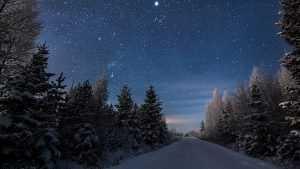 В январе брянцев ждет звездный дождь, комета Каталина и парад планет
