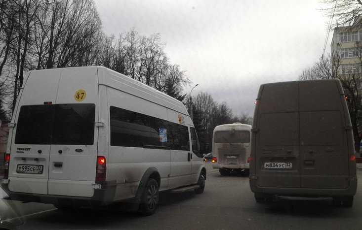 В Брянске перестали ходить 62-я и 77-я маршрутки