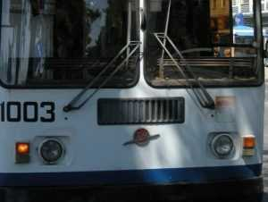 В Брянске перенесли место остановки троллейбуса №9