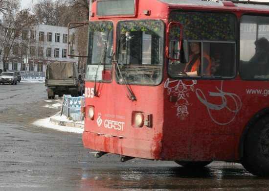 На Новый год работа автобусов и троллейбусов в Брянске сократится