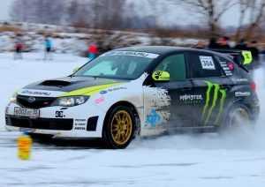 Брянские гонщики испытали себя на ледовом кольце